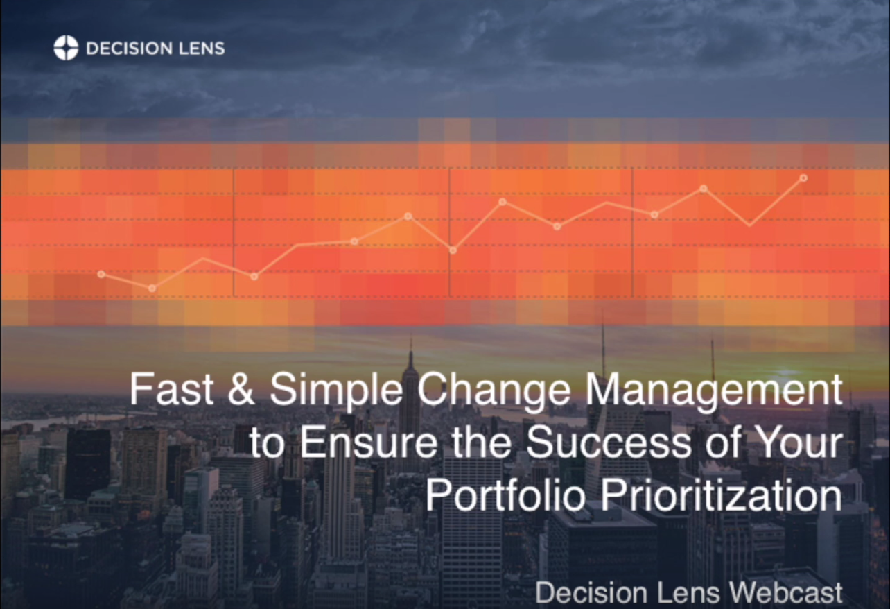 Webcast: Fast and Simple Change Management